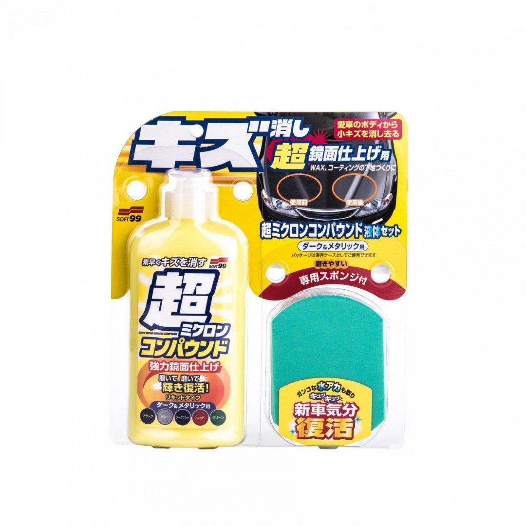 Soft99 Micro Liquid Compound Dark 250ml (Cleaner) - GRUBYGARAGE - Sklep Tuningowy